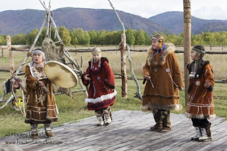 Peuple Itelmen au Kamtchatka