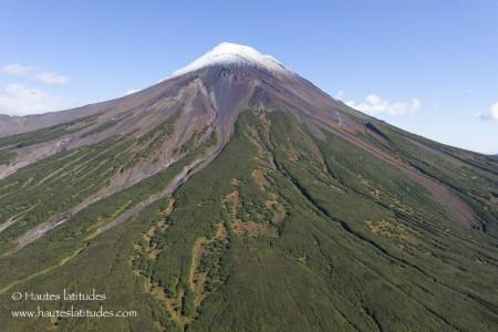 Volcan Ilinsky au Kamtchatka